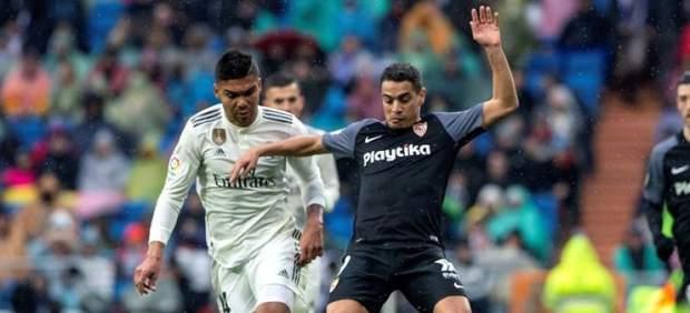 Así han sido los cánticos del Santiago Bernabéu contra el VAR y la Federación