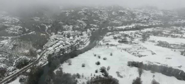 Las primeras nieves del invierno se extenderán hasta el jueves en el norte