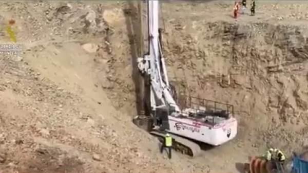 Así trabaja la tuneladora para rescatar a Julen