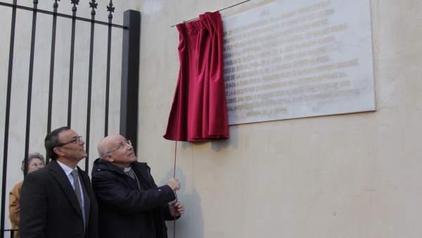 Inauguración de la iglesia de San Sebastián