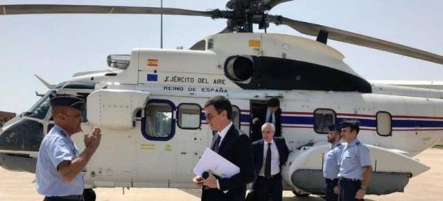 Sánchez considera secreto oficial el número de veces que ha usado el helicóptero presidencial