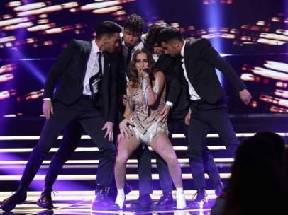 62400b72286 La actuación de Marilia ('Operación Triunfo 2018') para 'Eurovisión ...