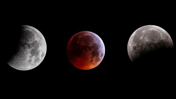 La superluna de sangre deja estampas de ensueño