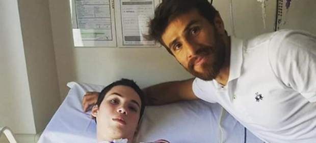 Leo Ponzio junto a Alan Guevara