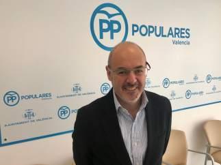 El portaveu del PP en l'Ajuntament de València, Eusebio Monzó