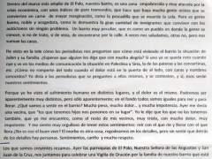 Carta, Rafael Vivancos, Julen, El Palo