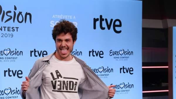 """Miki, """"optimista"""" por su representación en Eurovisión 2019"""