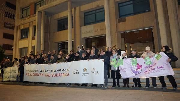 Manifestación En Vila-Real