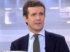 """Pablo Casado en Telecinco: """"Vox tiene que dar explicaciones en materia de finaciación"""""""