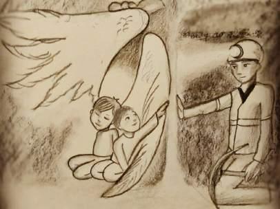 Los Emotivos Dibujos De Julen Esperando A Sus Rescatadores Protegido