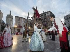 Ofrenda de flores a la Verge dels Desamparats de València 2018