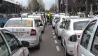 Taxistas provocan cortes en carreteras en la segunda jornada de huelga indefinida