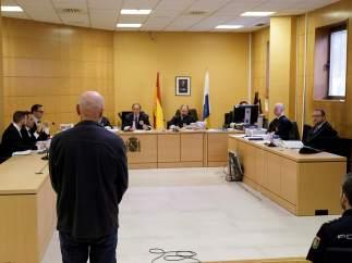 Miguel Ángel Millán está siendo juzgado en Teneride