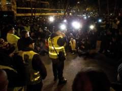 Asamblea de taxistas en Barcelona