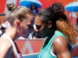 Serena Williams y Karolina Pliskova