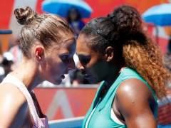 Serena Williams y Karolina Pliskova