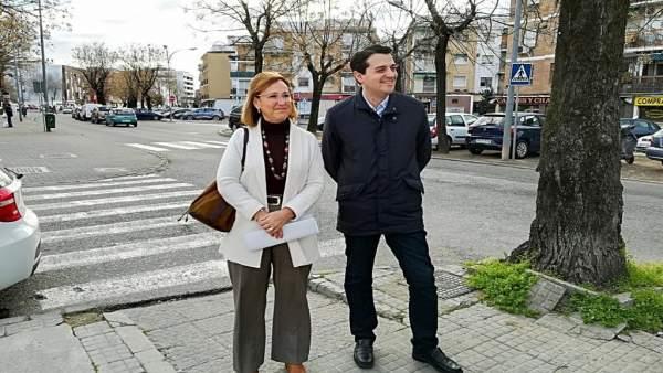 José María Bellido y Laura Ruiz