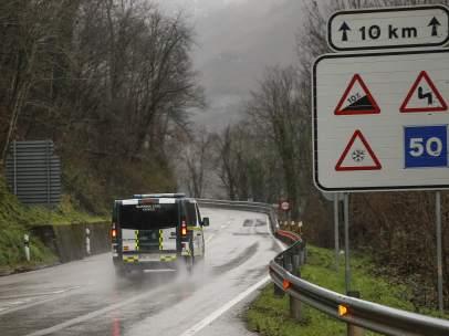 Imagen de mal tiempo en España