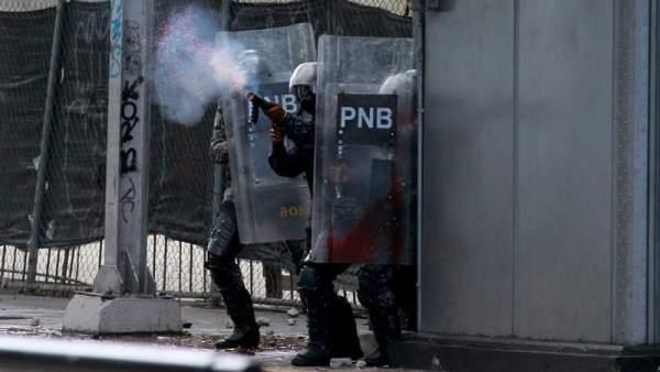 Manifestación contra Maduro