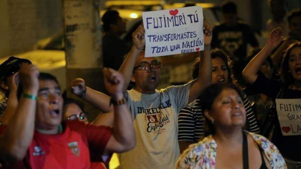 Fujimori vuelve a prisión tras salir de la clínica en Lima