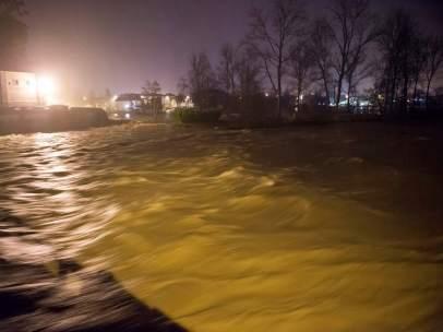 Crecida río Saja