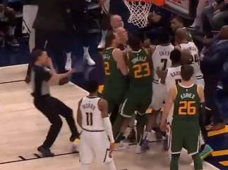 Pelea NBA