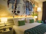 Habitación de un hotel en Barcelona