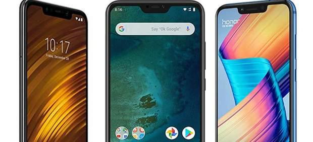 Los mejores smartphone baratos