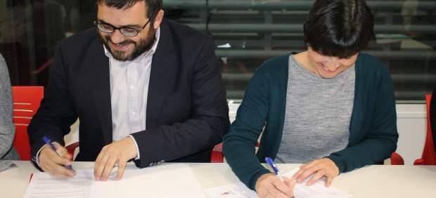 Vicenç Vidal y Joana Gomila