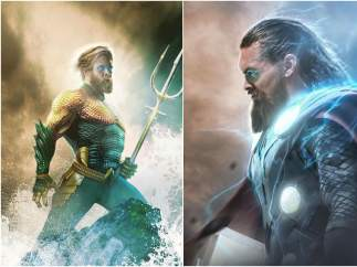 Aquaman (Chris Hemsworth) & Thor (Jason Momoa)