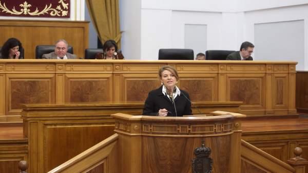 Aurelia Sánchez, consejera Bienestar Social