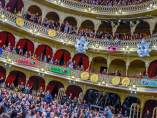 Patio de butacas del Gran Teatro Falla en el Concurso del Carnaval de Cádiz