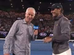 John McEnroe y Rafa Nadal.