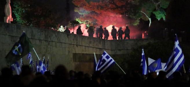 Manifestación Grecia