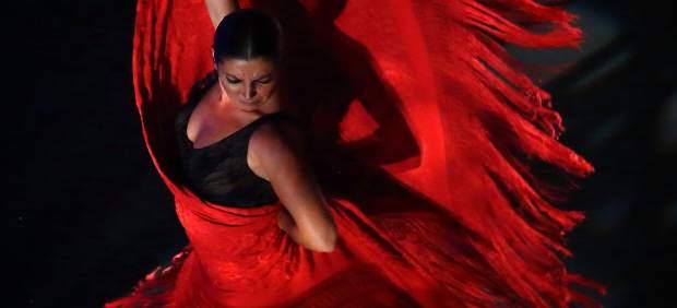 Sara Baras con su espectáculo 'Sombras'