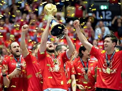 Dinamarca, campeona del mundo de balonmano
