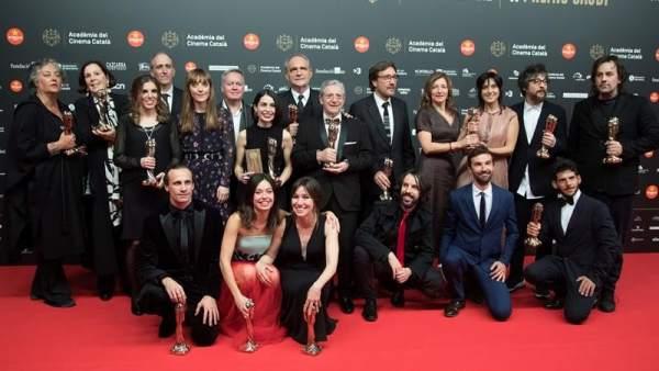Ganadores de los Premios Gaudí 2019