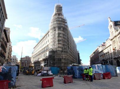 Obras en el complejo Canalejas