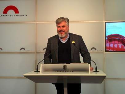 El portavoz de JxCat, Albert Batet.