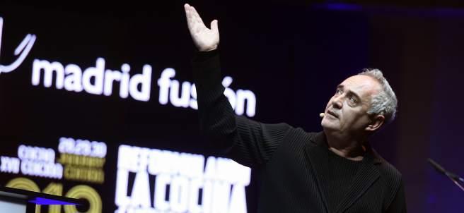 El chef catalán Ferran Adriá