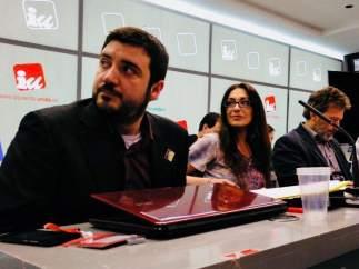 Aguilera, Sánchez y Valiente, en la Coordinadora Regional de IU Madrid