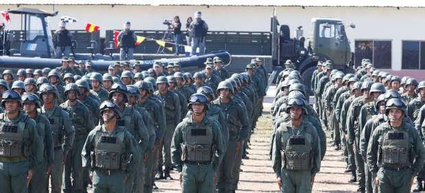 Marcha militar en Venezuela