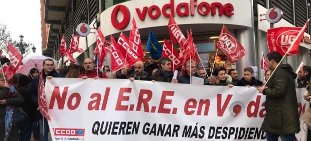 La Dirección de Vodafone y los sindicatos llegan a un acuerdo sobre el ERE