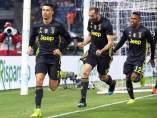 Cristiano Ronaldo, celebrando un gol con la Juventus.