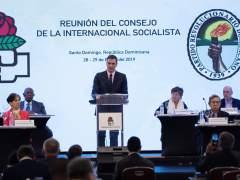 Pedro Sánchez clausura la Internacional Socialista en Santo Domingo.