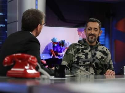 El doctor Pedro Cavadas, en 'El hormiguero'.