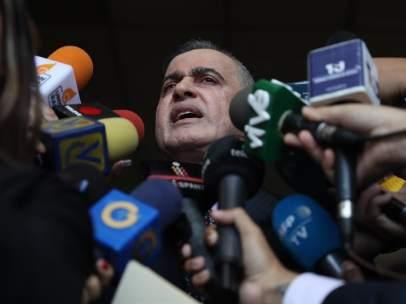 El fiscal general de Venezuela, Tarek Saab