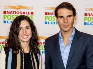 Rafa Nadal y Meri Perelló