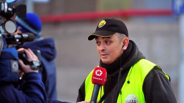 Tito Álvarez, portavoz de Élite Taxi.