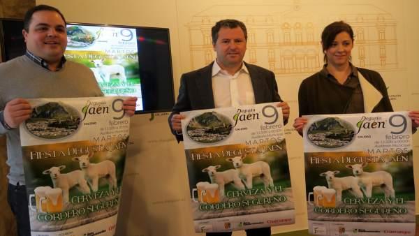 Presentación de la Fiesta Degusta Jaén de la Cerveza Artesana y el Cordero Segur